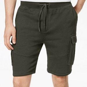 American Rag Men's Knit Cargo Sweatshorts Size L
